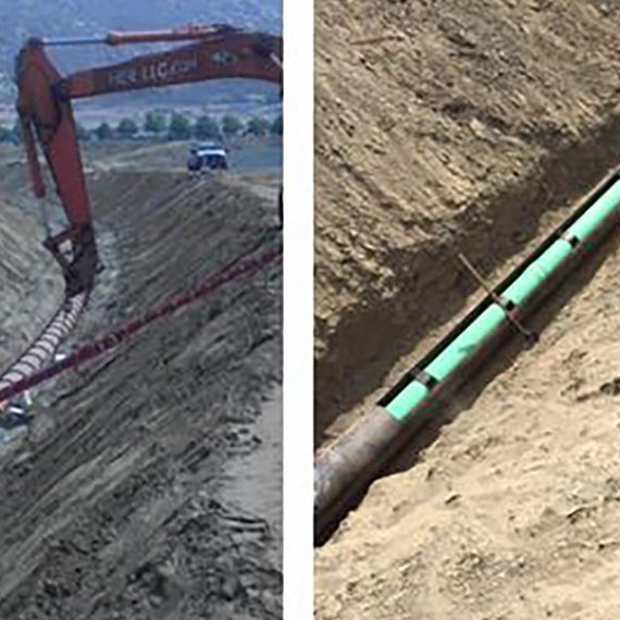 Temecula Wine Country Sewer Expansion Inspection Services, Eastern Municipal Water District.